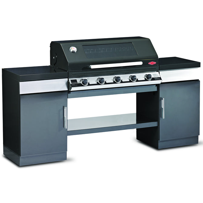 BeefEater Outdoor Kitchen with 5 Burner Discovery 1100E Series Gas Barbecue