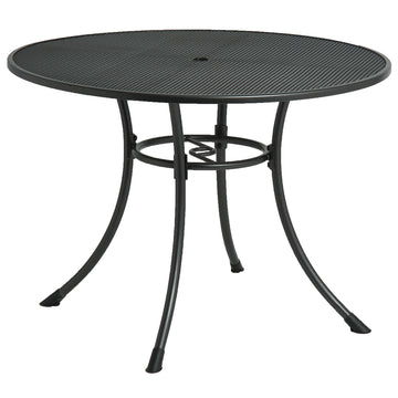 Alexander Rose Portofino Metal Round Garden Table 1.05m