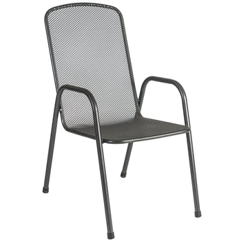 Alexander Rose Portofino Stacking Highback Armchair