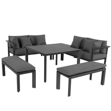 Alexander Rose Outdoor Portofino Casual Dining Set