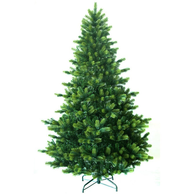 Artificial Christmas Tree Windsor Spruce PVC with Metal Stand by Noma