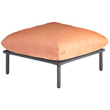 Alexander Rose Beach Footstool - Flint Frame