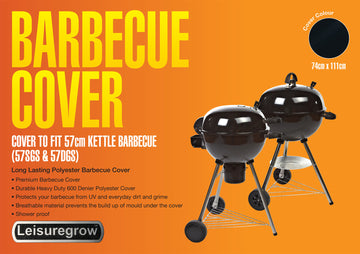Cover for Grillstream 57cm Kettle Charcoal Barbecue