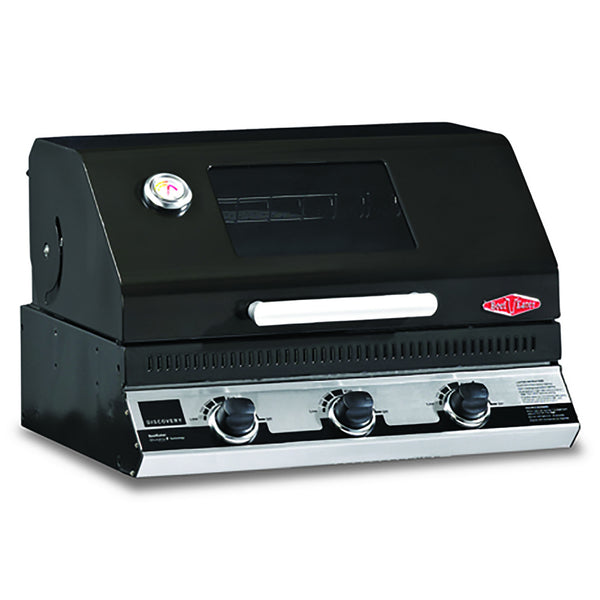 BeefEater Discovery 1100E Series 3 Burner Build-in Gas Barbecue