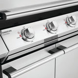 BeefEater Signature 2000 Series 4 Burner Gas Barbecue with Cabinet Trolley and Side Burner
