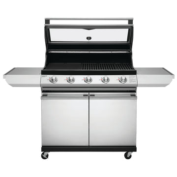 BeefEater Signature 2000 Series 5 Burner Gas Barbecue with Cabinet Trolley