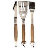 Grillstream Classic 3pc Barbecue Wooden Tool Set