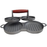 Grillstream Gourmet Barbecue Double Burger Press