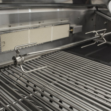 Draco Grills Rotisserie for 6 burner barbecues