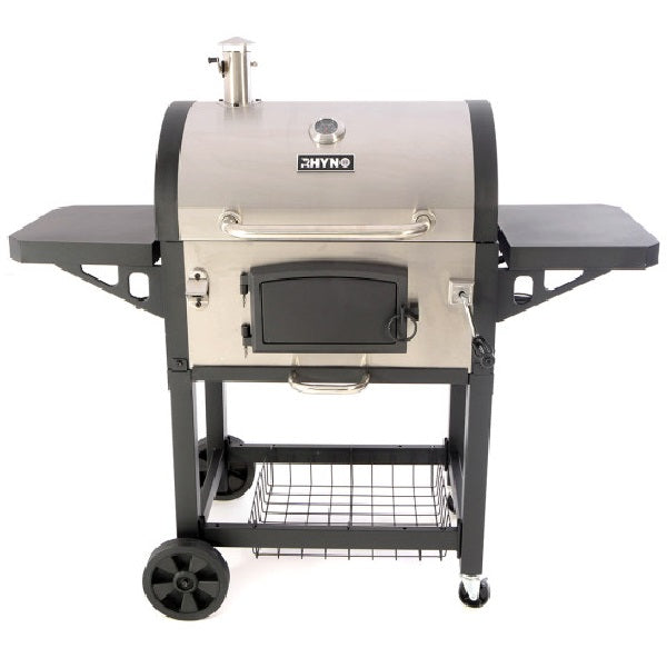 Rhyno Deluxe Charcoal Barbecue Stainless Steel