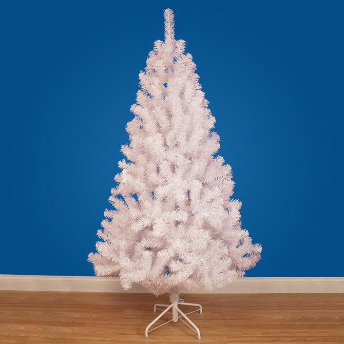 Hudson White Artificial Christmas Tree by The Christmas Centre - 4ft, 5ft, 6ft, 7ft, 8ft