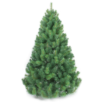 Rocky Green Artificial Christmas Tree by The Christmas Centre - 6ft, 7ft