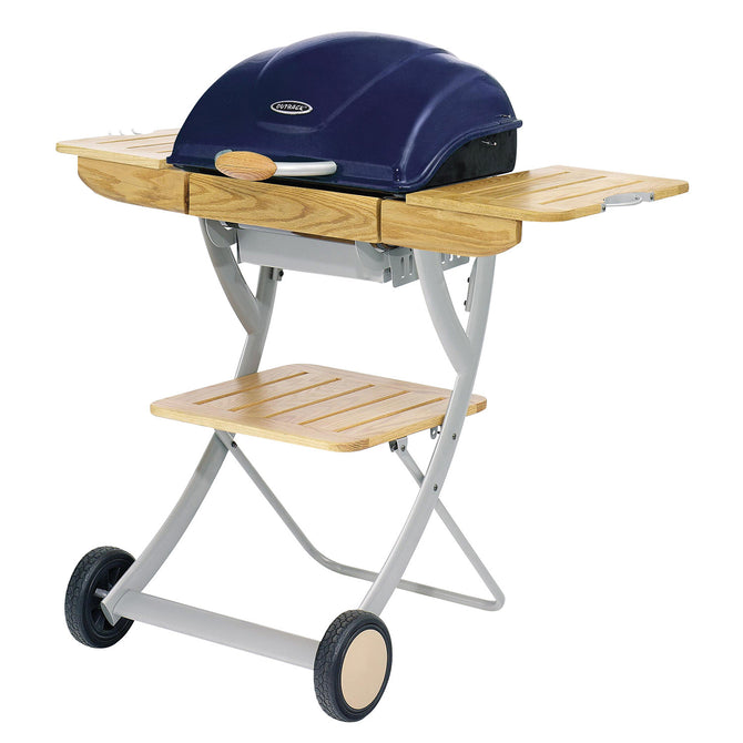 Outback Omega 200 Charcoal Barbecue - Blue