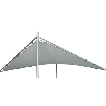 LG Outdoor Rodin 3.5m Sail Awning Replacement canopy- Grey