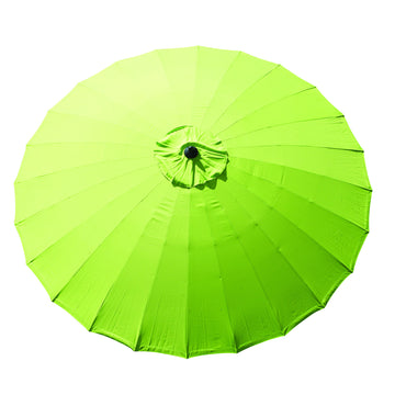 Bracken Outdoors Shanghai 2.7m Garden Parasol Lime Green