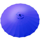 Bracken Outdoors Shanghai 2.7m Garden Parasol Purple