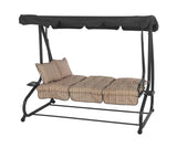 Bracken Outdoors Marbella Stripe Bed Hammock Swingseat