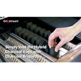 Grillstream Hybrid Barbecue Charcoal Trays for 2,3 & 4 Burner - Pack of 2