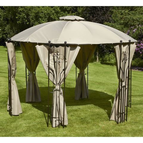 Bracken Outdoors Paris Round Garden Gazebo 3.5m