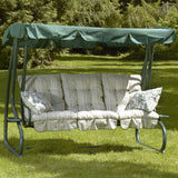 Bracken Outdoors Cotswold Stripe Bed Hammock Garden Swingseat
