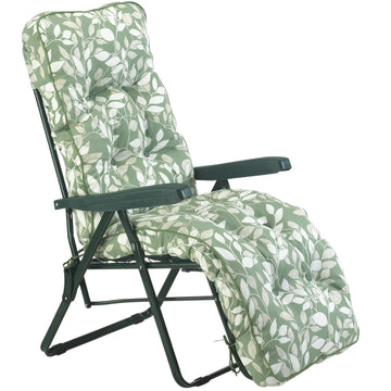Bracken Outdoors Deluxe Cotswold Leaf Relaxer Garden Chair