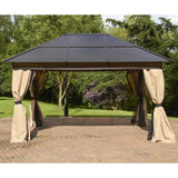 Bracken Outdoors Rectangular Polycarbonate Garden Gazebo 3 x 4m