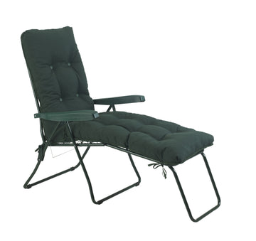 Bracken Outdoors Malaga Green Lounger Garden Chair