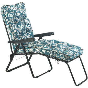 Bracken Outdoors Deluxe Tahiti Leaf Lounger Garden Chair