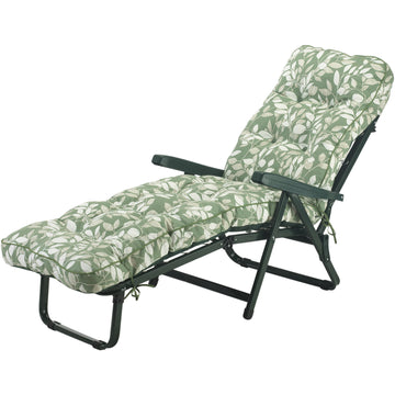 Bracken Outdoors Deluxe Cotswold Leaf Garden Sunlounger