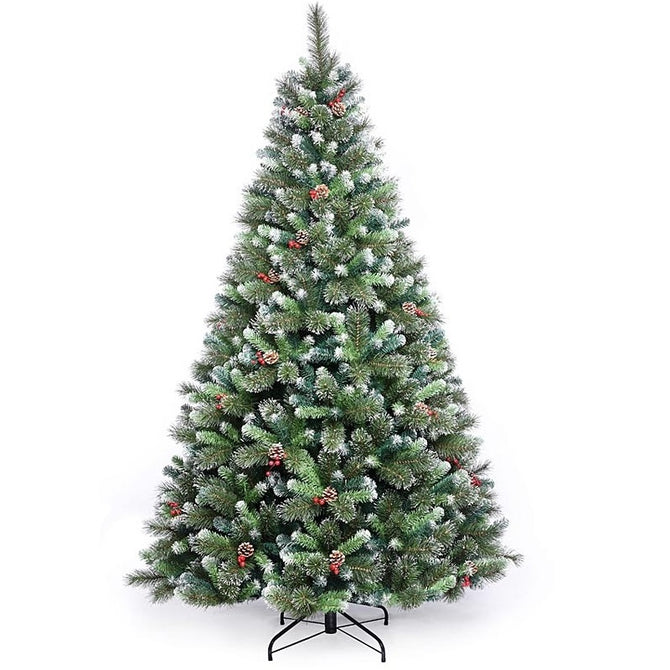 Artificial Christmas Tree Killarney Pine PVC with Metal Stand by Noma