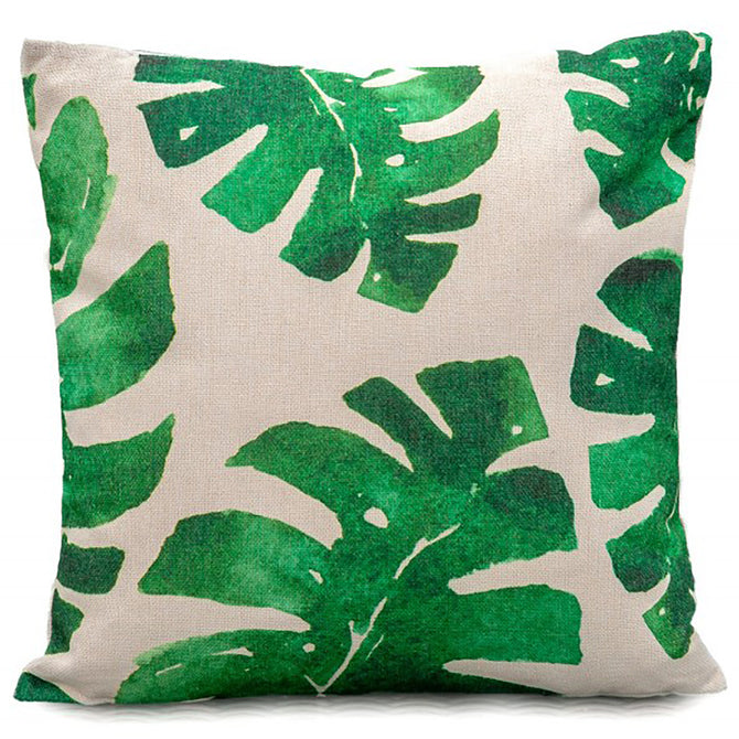 LG Outdoor Banana Leaves Scatter Cushion