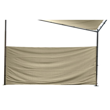 LG Outdoor Rodin 3.5m Sail Shade Privacy Screens - Beige
