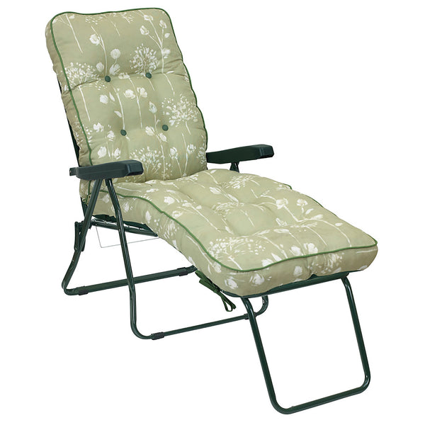 Bracken Outdoors Deluxe Renaissance Sage Lounger Garden Chair