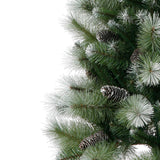 Lewiston Pine Frosted Green Artificial Christmas Tree by Noma - 3ft, 6ft, 7ft