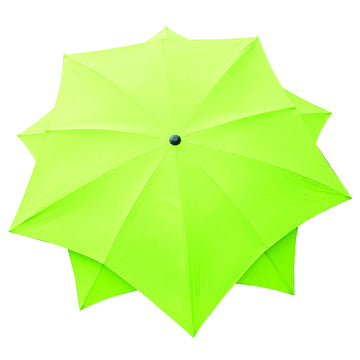 Bracken Outdoors Lotus Fibreglass Garden Parasol 2.7m - Lime