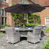 Robert Charles Montana 6 Seat Weave Outdoor Garden Furniture Set