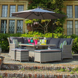 Robert Charles Montana Corner High Dining Outdoor Garden Furniture Set