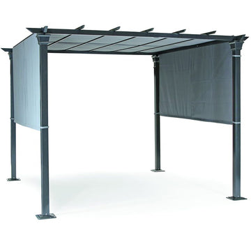 Kettler Panalsol Gazebo Frame 3m x 3m with Taupe or Natural Canopy