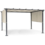 Kettler Panalsol Gazebo Frame 4m x 3m With Taupe or Natural canopy