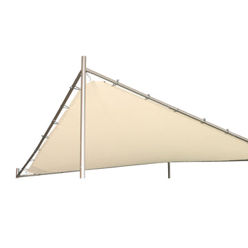 LG Outdoor Rodin 3.5m Sail Awning Replacement canopy- Beige