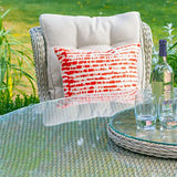 LG Outdoor Nordic Tie Scatter Cushion