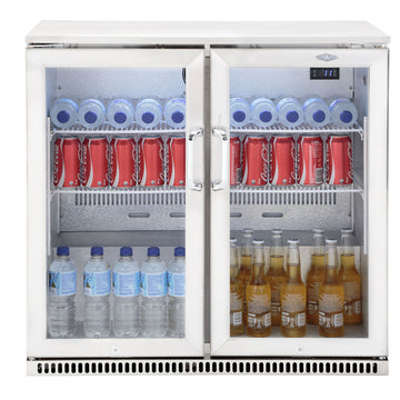 BeefEater Artisan Tropical Outdoor Bar Fridge - Twin Door