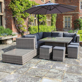 Robert Charles Tennessee High Corner Outdoor Lounge Sofa Set