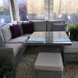 Harbo Valencia Compact Corner Casual Dining Sofa Set