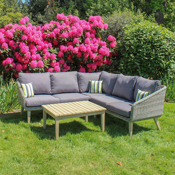 Robert Charles Verona Outdoor Corner Lounge Garden Furniture Set
