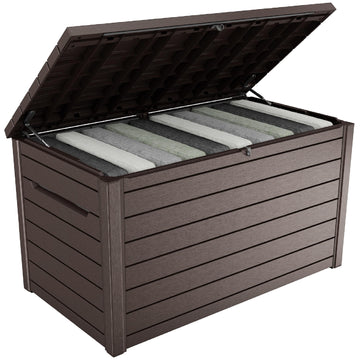 Keter XXL Garden Storage Deck Box 870L - Brown