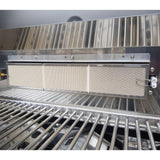 Draco Grills Ascona 4 Burner Stainless Steel Gas Barbecue with Cabinet and Side Burner