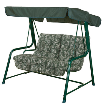 Bracken Outdoors Aspen Leaf Vienna 2 Seat Garden Swingseat
