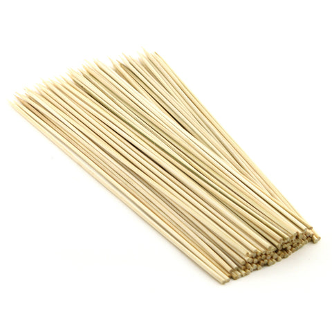 "Outback Bamboo Barbecue Skewers 12"" 100 Pack"