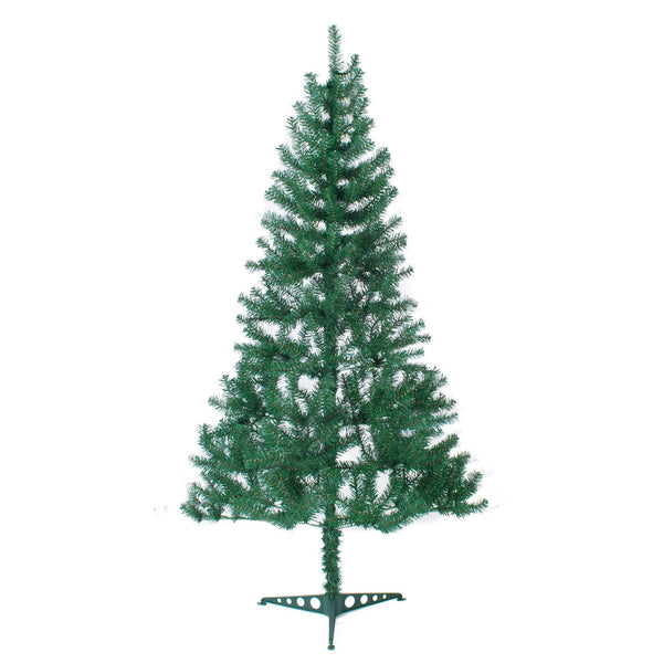 Green Canadian Pine Artificial Christmas Tree 6ft, 7ft